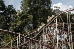 Kvůli opravě holešovického Výstaviště v Praze musejí areál do června opustit atrakce, které v něm obvykle po pouti zůstávají po celý rok, horská dráha a ruské kolo.