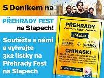 S DENÍKEM NA PŘEHRADY FEST na Slapech!