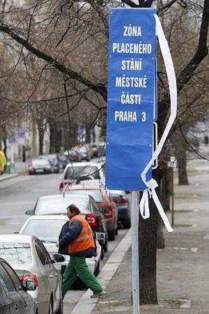 18. února byly na Praze 3 zprovozněny zóny placeného stání pro řidiče.
