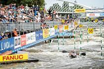 Areál pro vodní slalom v pražské Troji.