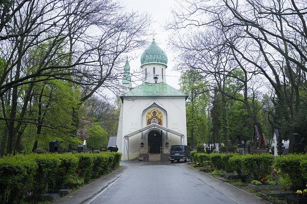 Moje místa Mileny Kalinovské, Pravoslavná kaple na Olšanských hřbitovech, Praha, 26.4.2017