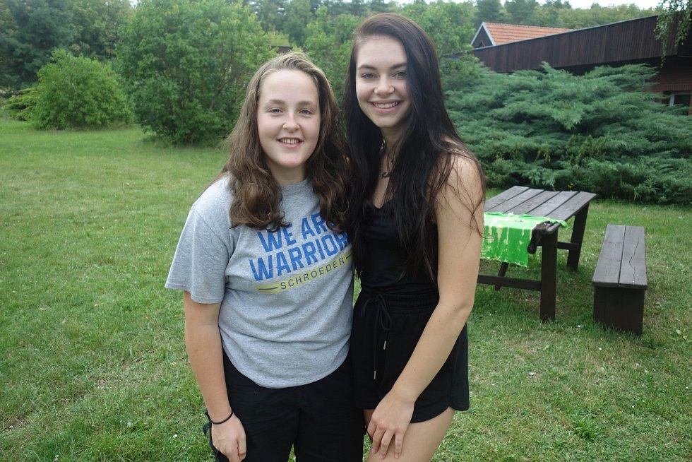 Kateřina Syrovátková a Magdaléna Komínková už studium v USA vyzkoušely.