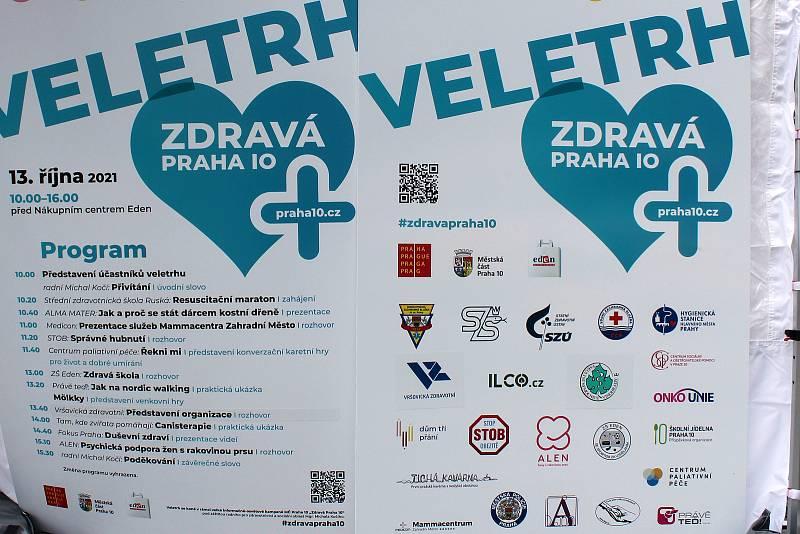 Z veletrhu Zdravá Praha 10.