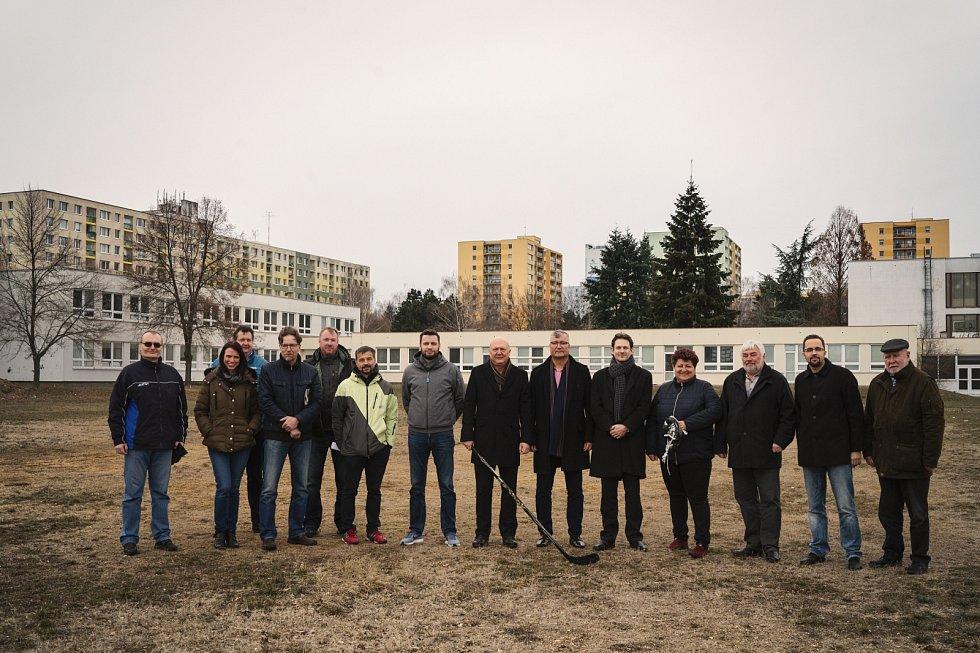 Areál ledových sportů na pražském Jižním Městě by měl být dokončen v květnu 2020.