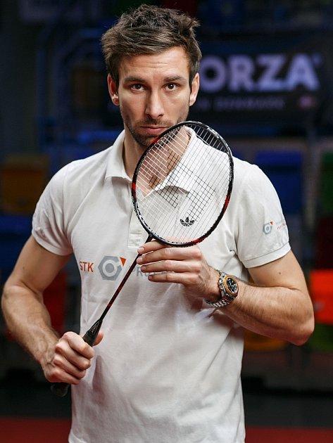 Badmintonista a trojnásobný olympionik Petr Koukal.