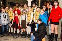 Do divadla Hybernia se sjely bezmála dvě stovky dětí zcelé republiky.