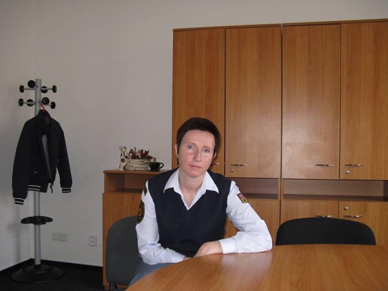 EVA BIEDERMANNOVÁ, psycholožka Hasičského záchranného sboru Středočeského kraje.