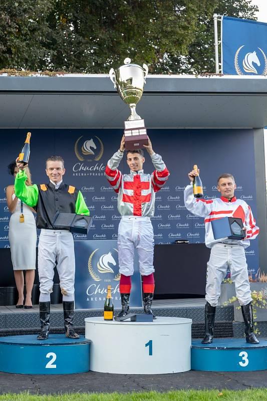 Celkoví vítězové EJC – 1. místo ž. Antonio Fresu, 2. místo ž. A. A. De Vries, 3. místo ž. Per-Andersen Graberg.