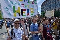 Pochod za legalizaci konopí Million Marihuana March
