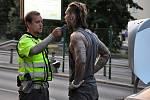 Na snímku známý BMX jezdec Dominik Nekolný, proslulý odmítáním drog i alkoholu, který se stal vůbec prvním kontrolovaným. Prošel v pořádku.
