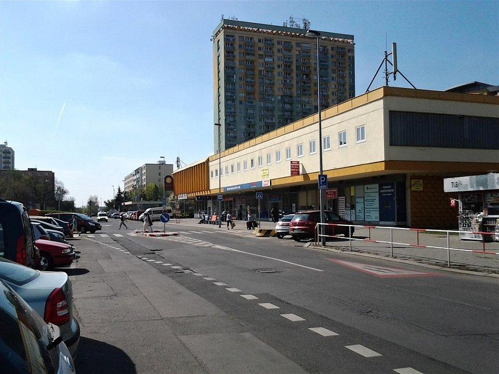 Obchodní centrum Květ v Praze 10.