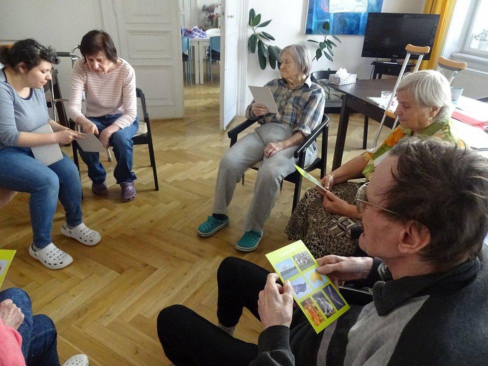 V odlehčovacím centru Seňorina připravují pro klienty pestrý program.