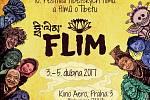Plakát festivalu tibetských filmů a filmů o Tibetu FLIM 2017.