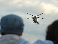 Armádní vrtulník Sokol. Ilustrační foto.
