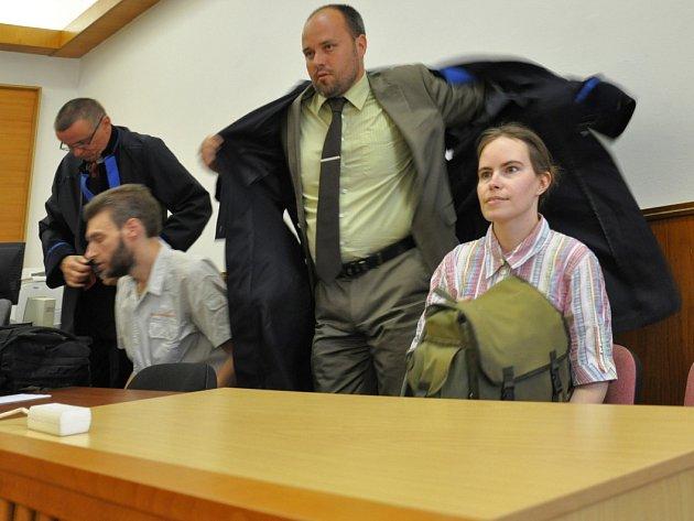 Přes trestním senátem Městského soudu v Praze v pondělí opětovně stanuli rodiče takzvaných vlčích dětí z Vinohrad.