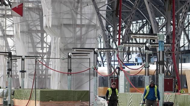Opravy na Hlavním nádraží. Ilustrační foto.