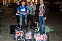 Loňský ročník soutěže MGM vyhrála litoměřická kapela Keep On Rotting. Kdo uspěje letos?