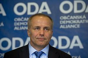 Předseda Občanské demokratické aliance (ODA) Pavel Sehnal.