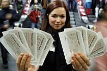 Přepravní průzkum v pražském metru se naposledy uskutečnil 12. listopadu 2008.