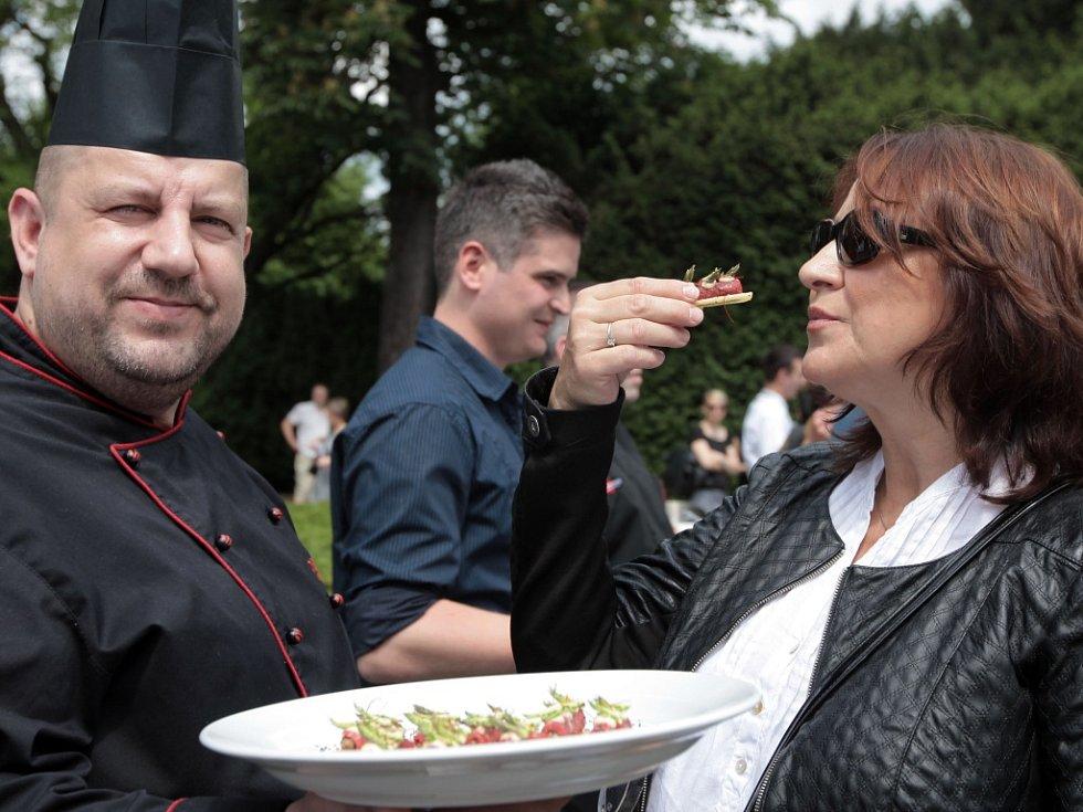 Ze zahájení Prague Food Festivalu 2015.