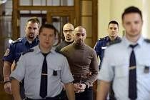 Armin Nahvi a Aräsh Nahvi - Odvolací soud řešil 15. října 2019 v Praze případ bratrů z Nizozemska, kteří loni napadli a brutálně zbili číšníka v centru Prahy. Městský soud jim v dubnu nepravomocně uložil šest a pět let vězení. Vlevo na snímku je třetí zle