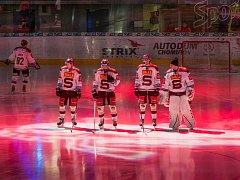 Hráči HC Sparta Praha.