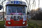 Tramvaj Václava Havla se vrací do pražských ulic.