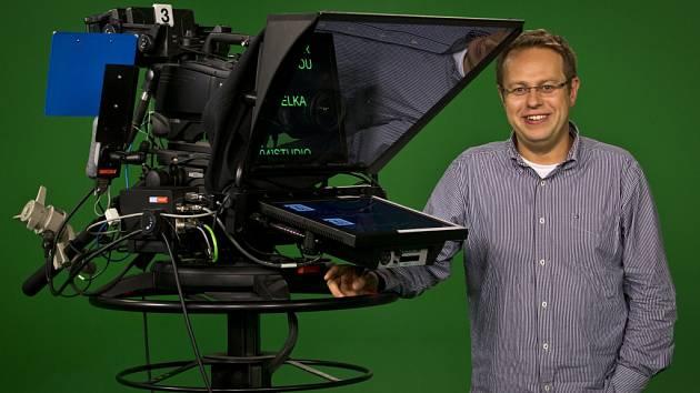 Moderátor Václav Moravec.