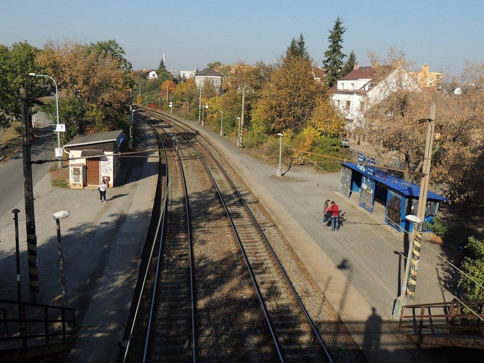 Drážní promenáda má vzniknout na místě staré železniční tratě v Praze 10.