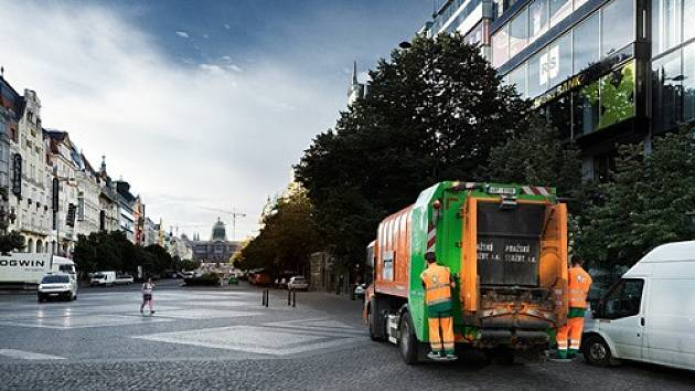 Svoz odpadu v Praze pokračuje i během řádění koronaviru bez omezení.