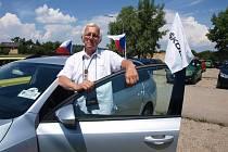 Předseda Automotoklubu Škoda Josef Pálka