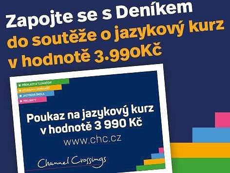 Zapojte se s Deníkem do soutěže o jazykový kurz.