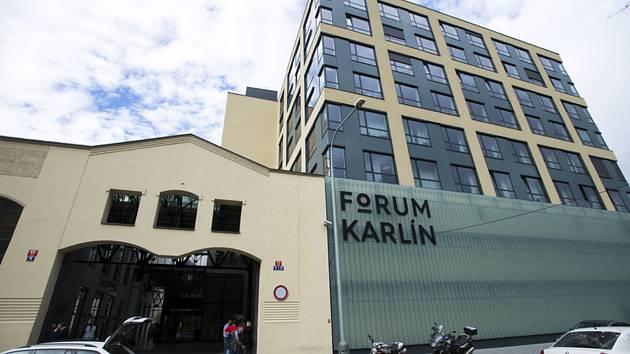 Forum Karlín v Praze na snímku pořízeném 1. října 2019.