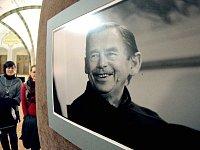 Václav Havel na snímku fotografa Oldřicha Škáchy.