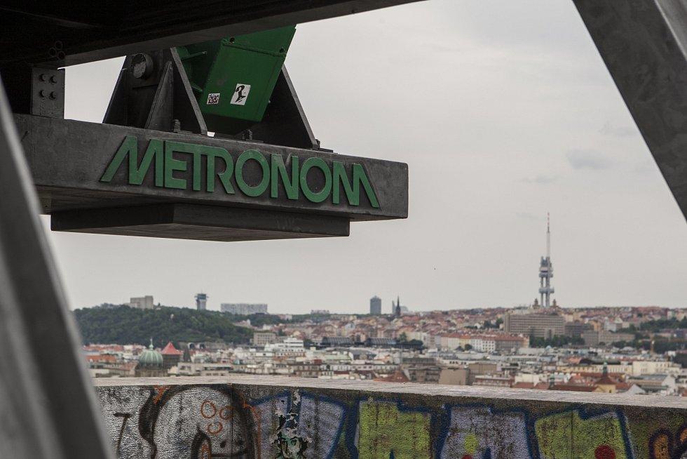 Metronom na Letné.