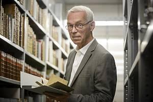 Ředitel Národní technické knihovny Martin Svoboda.