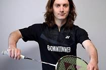 Badmintonový trenér SK Prosek Praha Tomáš Krajča.