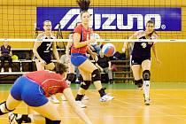NEDAŘILO SE! Volejbalisty Olympu ve druhém utkání semifinále na Hanačky nestačily.