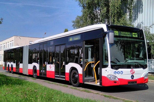 Velkokapacitní autobus Mercedes-Benz CapaCity L.
