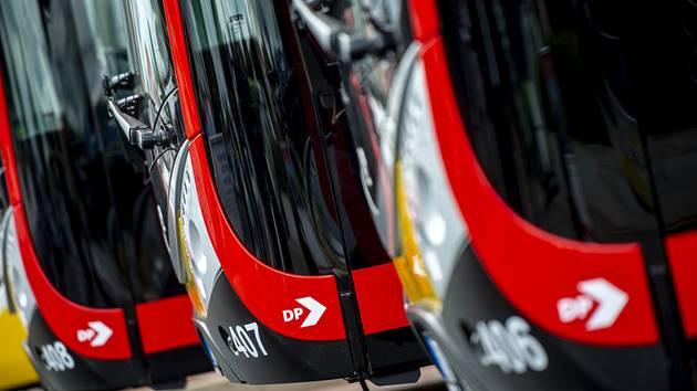 Elektrobusy - ilustrační foto.