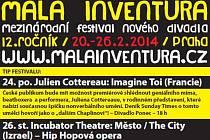 Část plakátu na pražský festival Malá inventura.