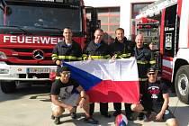 Úspěch pražských hasičů v TFA v Rakousku.
