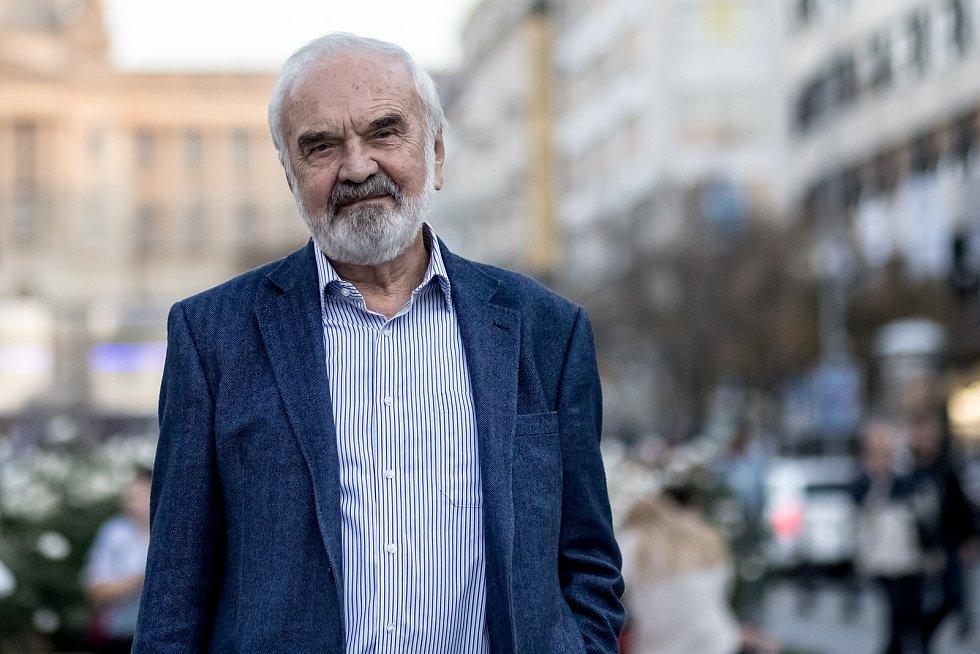 Dramatik, scénárista, herec, spisovatel a textař Zdeněk Svěrák.