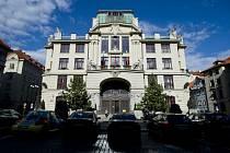 Budova Nové radnice, sídla pražského Magistrátu.