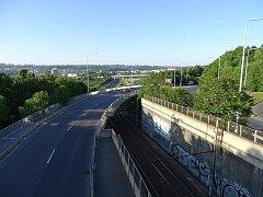 Most v ulici Pod Krejcárkem. Ilustrační foto.
