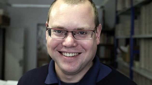 Jan Šimek, odborný pracovník Národního pedagogického muzea a knihovny J. A. Komenského v Praze.