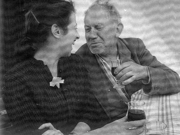 Sonja Bullaty a fotograf Josef Sudek