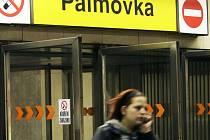 Stanice Palmovka. Ilustrační foto.