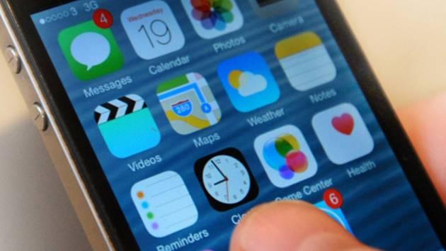 Mobilní aplikace. Ilustrační foto.