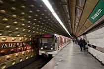 Stanice metra Muzeum. Ilustrační foto.